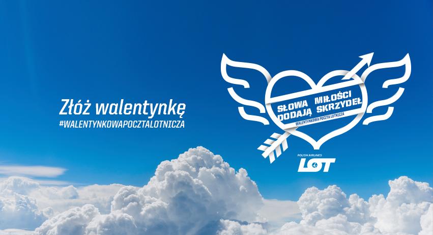 LOT: Walentynkowa Poczta Lotnicza