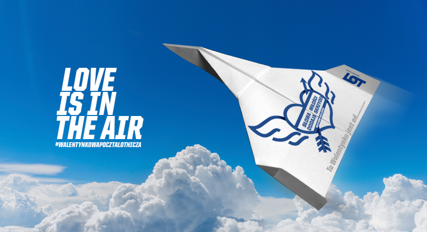 Polish Airlines LOT: Valentine's Day