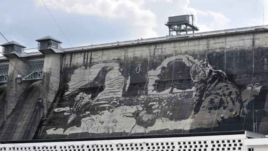 PGE: Ekologiczny mural na Solinie